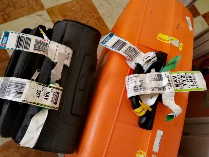 Verlorene Koffer Kuba Reise