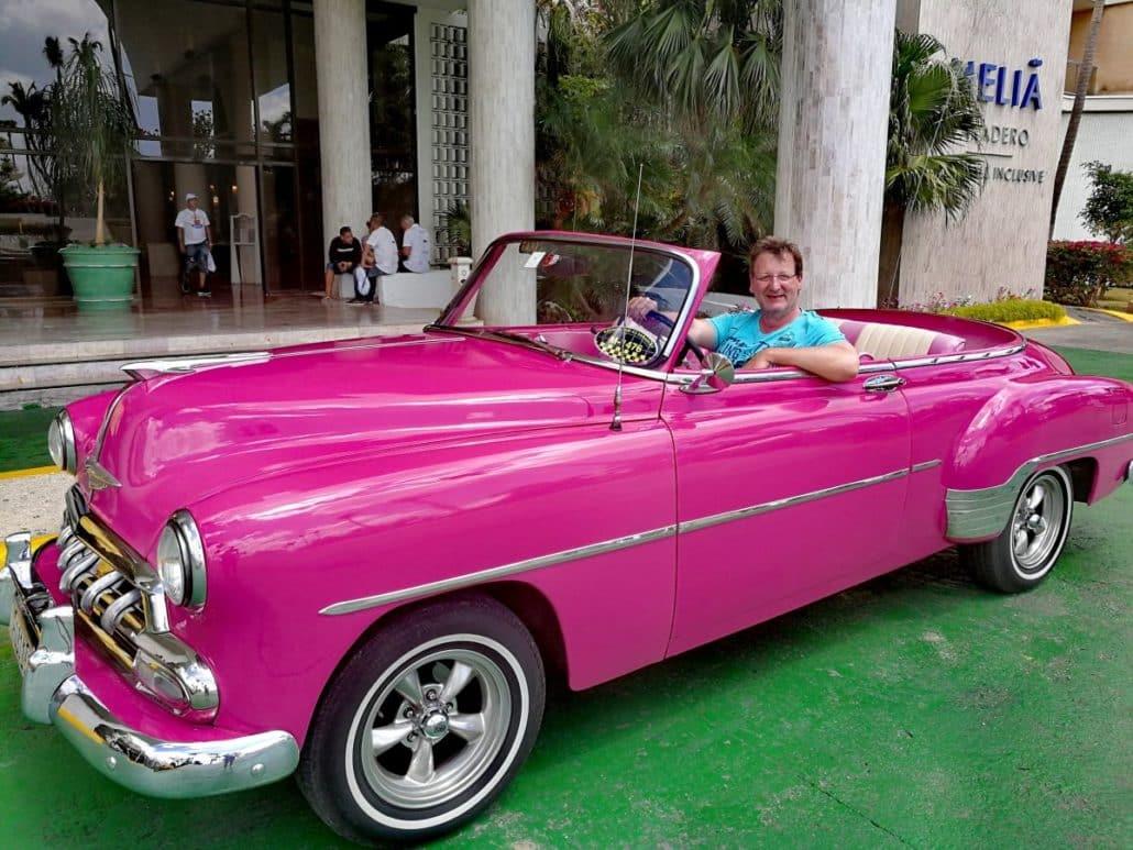 Alte Ami Autos auf Kuba